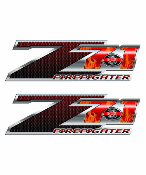 Firefighter Z71 Off Road Sticker Set