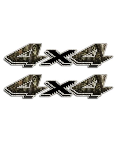 4x4 Shocker Camo Stickers