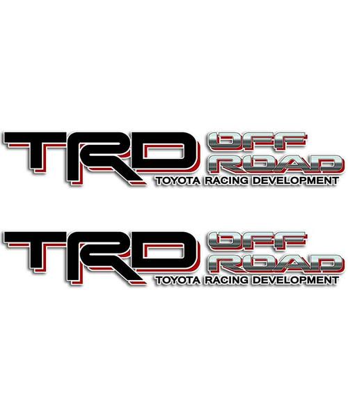 TRD Black Sticker Set