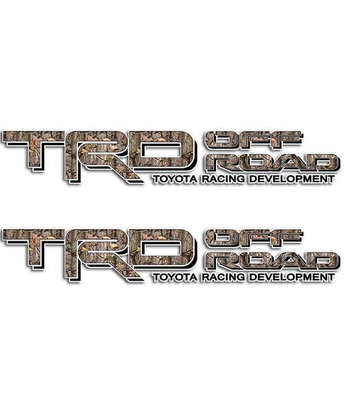 TRD Timber Camo Sticker Set