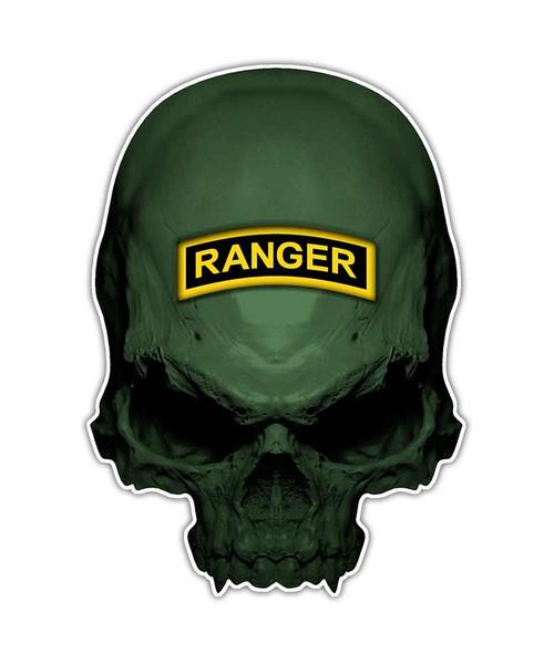 Army Ranger Skull Sticker