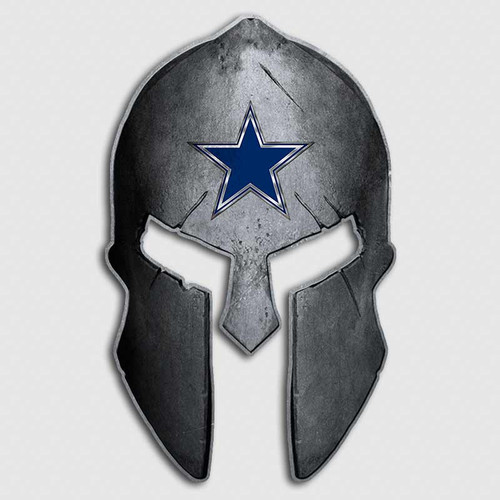 Dallas Cowboys Spartan Helmet Decal