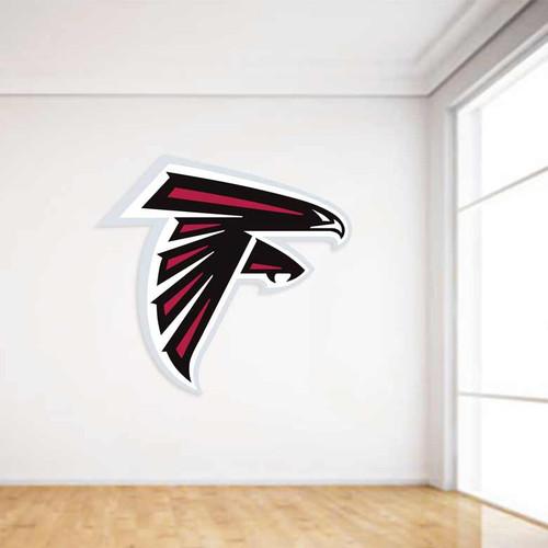 Atlanta Falcons Football Wall Decal