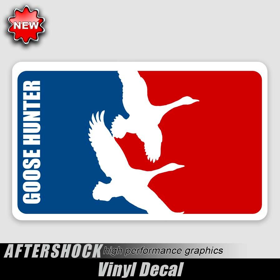 Goose Hunting Logos Goose Hunter Logo Sticker