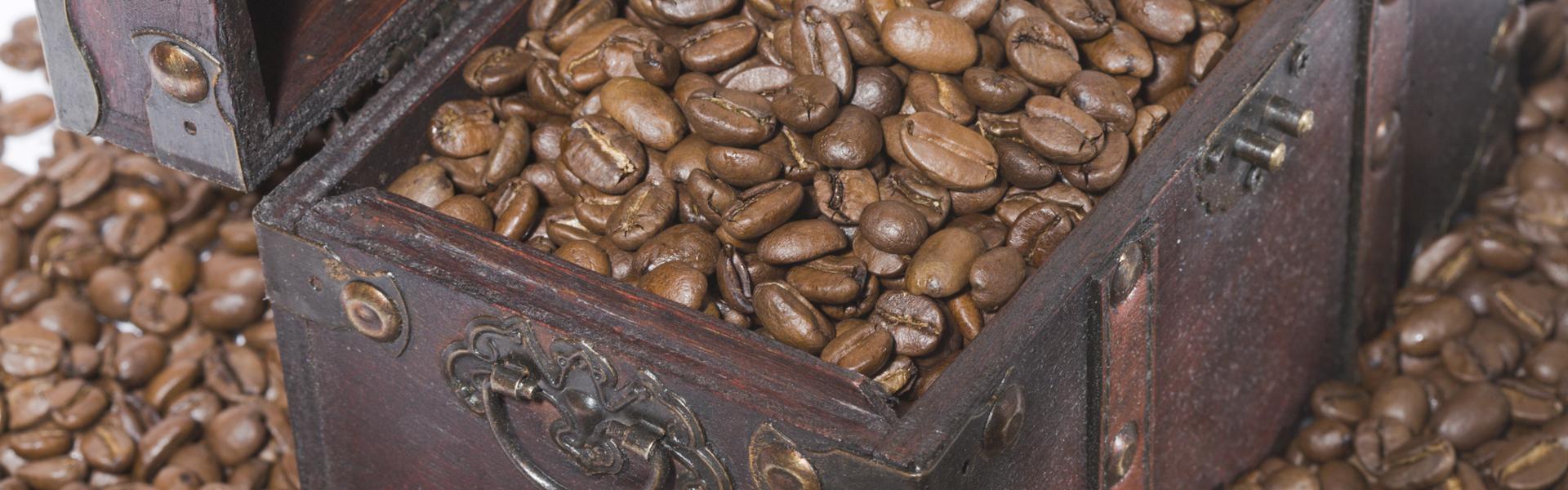 Coffee beans storage