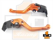 Moto Guzzi Breva 750 Shorty Brake & Clutch Levers - Orange
