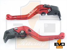 Moto Guzzi Audace Shorty Brake & Clutch Levers - Red