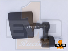 EVO1 Square Mirrors - Black
