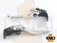 Honda VFR800 Shorty Brake & Clutch Levers- Silver