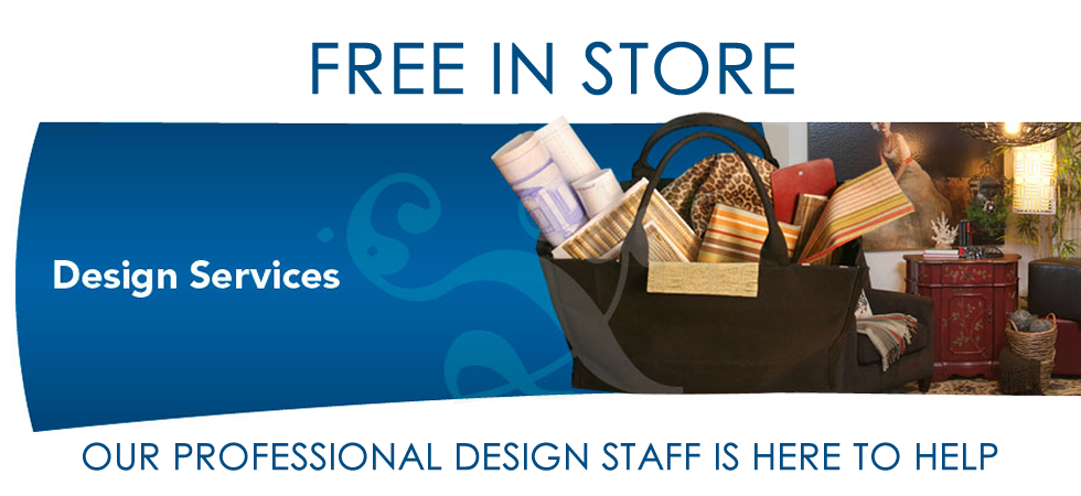 Free in store and home design service
