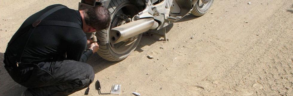 motorcycle tire repair kits