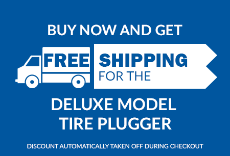 Free Shipping - Deluxe Model Tire Plugger