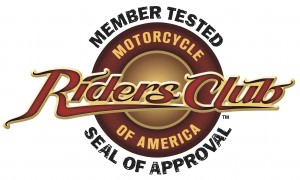 Motorcycle Riders Club of America Seal of Approval