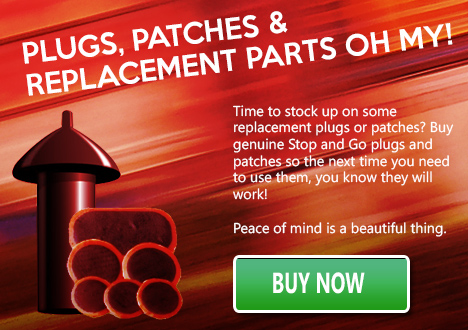 Plugs and replacement patches
