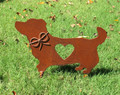 Corgidor - Retriever Corgi Dog - Metal Garden Stake - Metal Yard Art - Metal Garden Art - Pet Memorial