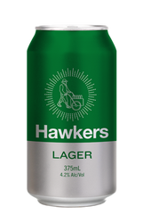 Hawkers Lager Cans
