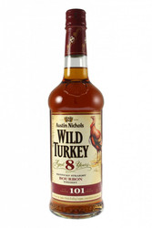 Wild Turkey Aged 8 Years Old Bourbon Whiskey