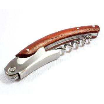 Wood Handle Corkscrew Waiter's Friend