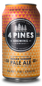 Indian Summer Pale Ale Cans