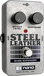 Electro Harmonix   Steel Leather	 Attack Expander for Bass Guitar
