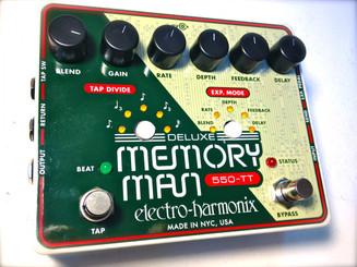 Electro Harmonix Deluxe Memory Man with Tap Tempo 550mS