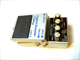Used Boss digital sampler/delay dsd-2 MIJ SOLD!!!