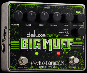 Electro Harmonix Deluxe Bass Big Muff Pi  Distortion/Sustainer
