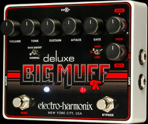 Electro Harmonix Deluxe Big Muff Pi  The icon reimagined