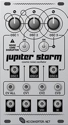 Hexinverter Électronique JUPITER STORM Experimental Voltage Controlled Oscillator