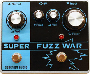 DEATH BY AUDIO SUPER FUZZ WAR limited edition