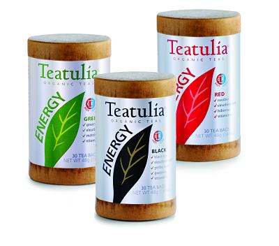 Energy Teatulia Organic Teas