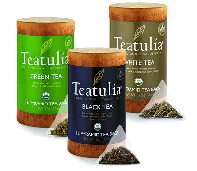 Sampler Packs Teatulia Organic Teas