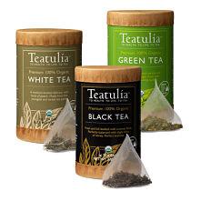 Sample Packs Teatulia Organic Teas