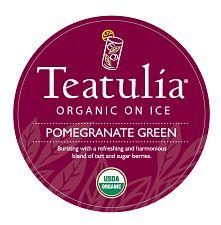Iced Teatulia Organic Teas
