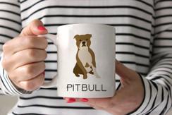 Pitbull Ceramic Mug