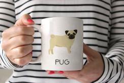 Pug Ceramic Mug