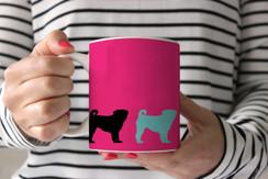 Pugs on Parade Coffee Mug