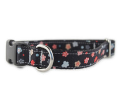 Fleur Noire Dog Collar