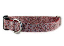 Pink Poppy Dog Collar