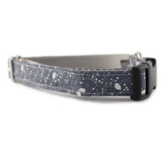 Gray Stardust Dog Collar