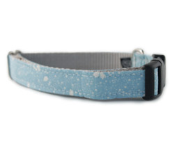Blue Stardust Dog Collar