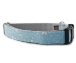 Blue Stardust Dog Collar