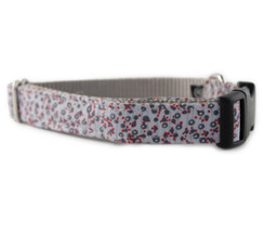 Blue Poppy Dog Collar