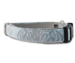Gray Goddess Dog Collar