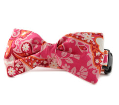 Arden Bow Tie Dog Collar