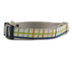 Andy Plaid Dog Collar