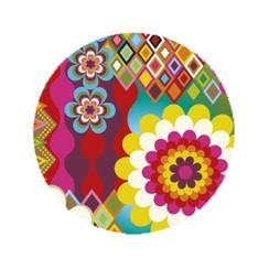 Rainbow Flower Mosaic Dog Leash