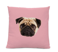 Pug Face Pillow