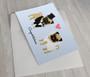 Wedding Pugs Greeting Card