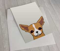 Chihuahua Greeting Card